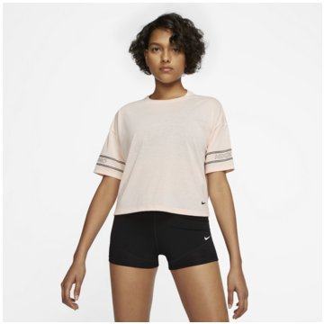 Nike T-ShirtsNike Pro Women's Graphic Short-Sleeve Top - CJ4031-664 -