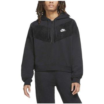 Nike SweatshirtsNike Sportswear Heritage Women's Half-Zip - CZ1878-010 schwarz
