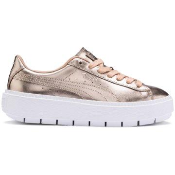 Puma Sneaker LowBasket Platform Trace Luxe Sneaker -
