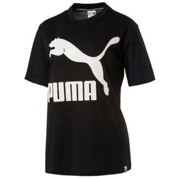 Puma T-ShirtsClassics Logo Tee schwarz