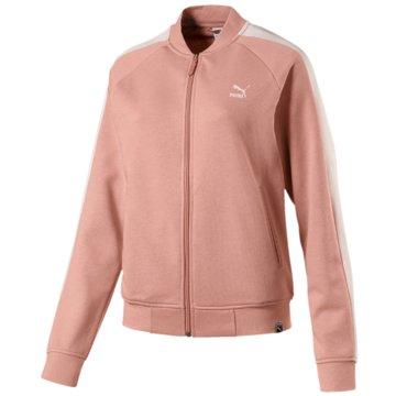 Puma SweaterClassics Logo T7 Track Jak lachs