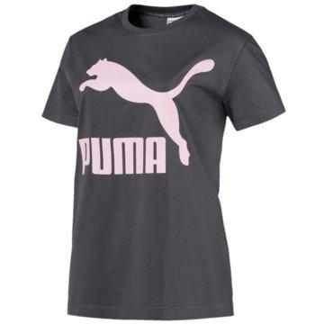 Puma FunktionsshirtsClassics Logo Tee grau