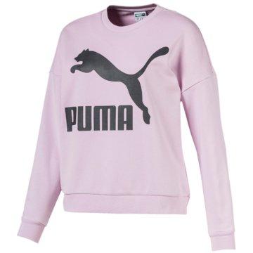 Puma SweaterClassics Logo Crew rosa