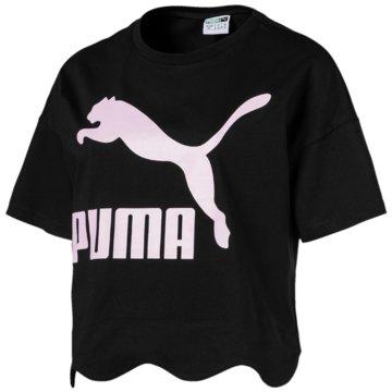 Puma FunktionsshirtsScallop Tee schwarz