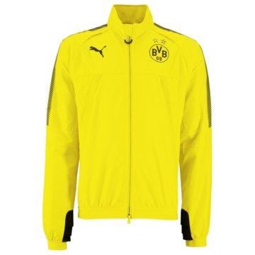 Puma FanartikelBVB Borussia Dortmund Stadium Herren Jacke gelb gelb