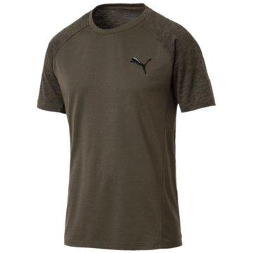 Puma T-ShirtsActive Evostripe T-Shirt braun