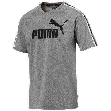 Puma T-ShirtsTape Logo Tee grau