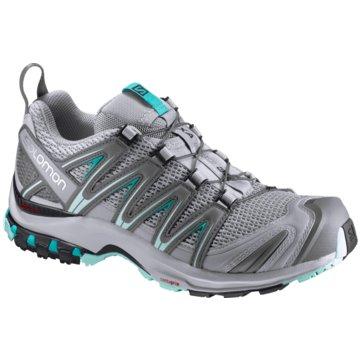 Salomon TrailrunningXA Pro 3D Damen Laufschuhe Trail-Running grau blau grau