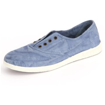 Natural World Eco Sportlicher Slipper blau