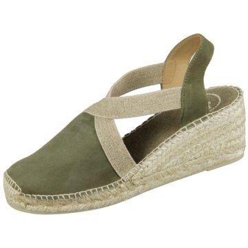 Toni Pons Espadrilles Sandaletten grün