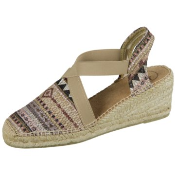 Toni Pons Espadrilles Sandaletten beige