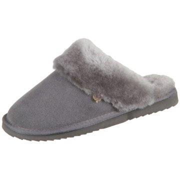 Warmbat Hausschuh grau