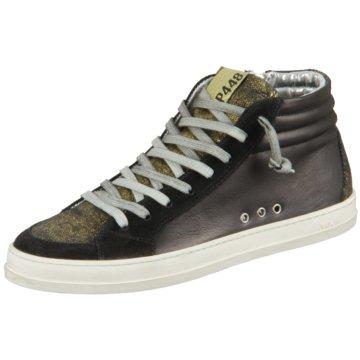 P448 Sneaker HighSkate schwarz