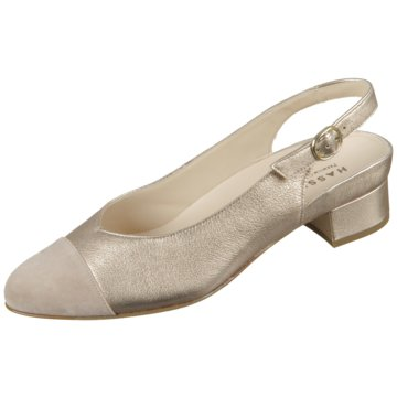 Hassia Slingpumps gold