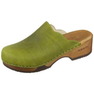 Woody Clog grün