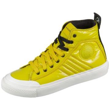 Diesel Sneaker High gelb