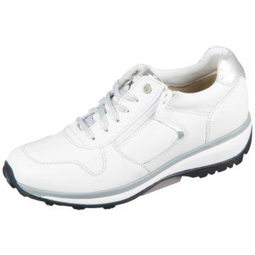 Xsensible Sportlicher Schnürschuh weiß