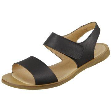 El Naturalista Komfort Sandale schwarz
