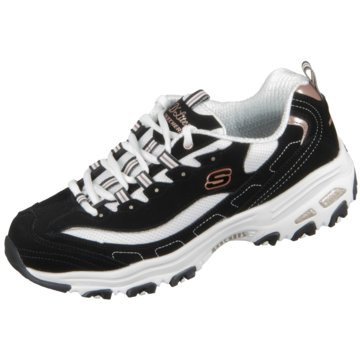 Skechers Sneaker LowD Lites Devoted Fan schwarz