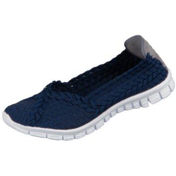Rock Spring Komfort Slipper blau