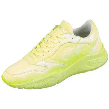 Crime London Sneaker Low gelb