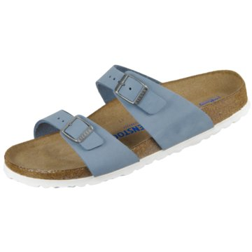 Birkenstock Klassische PantoletteSydney SFB NU blau