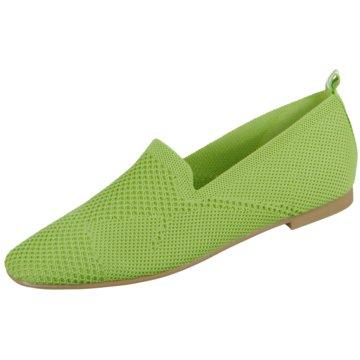 La Strada Komfort Slipper grün