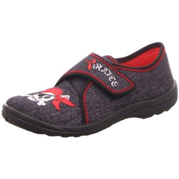 Fischer Schuhe Hausschuh rot