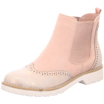 Marco Tozzi Chelsea Boot rosa
