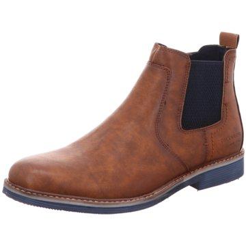 Tom Tailor Chelsea Boot braun