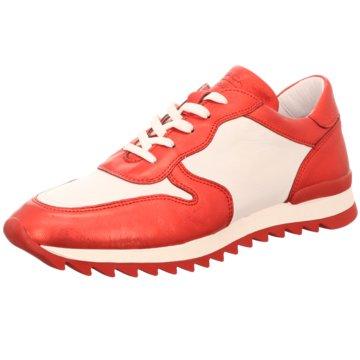 MACA Kitzbühel Sportlicher Schnürschuh rot