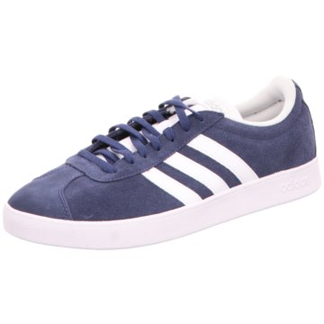 adidas Sneaker LowVL COURT SCHUH - EG4107 blau