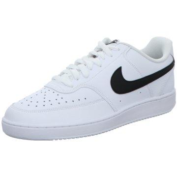 Nike Sneaker LowCOURT VISION LOW - CD5463-101 weiß