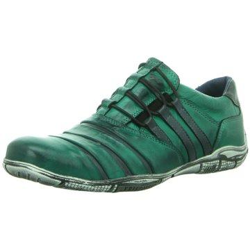 Kristofer Komfort Slipper grün