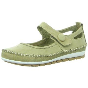 Gemini Komfort Slipper grün