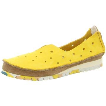 Clamp Komfort Slipper gelb