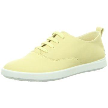 Ecco Sportlicher Schnürschuh gelb