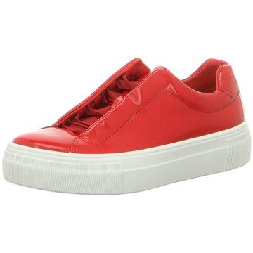 Legero Plateau Sneaker rot
