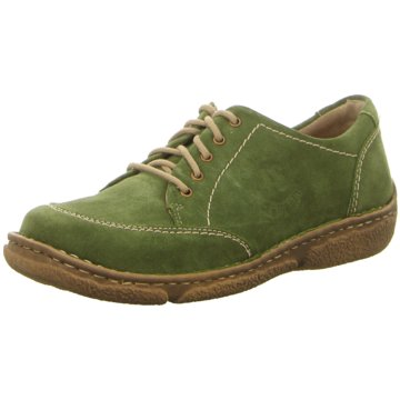 Josef Seibel Komfort Schnürschuh grün