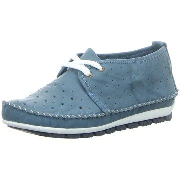 Gemini Komfort Mokassin blau