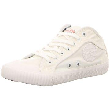Pepe Jeans Sneaker High weiß