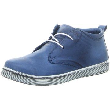 Andrea Conti Komfort Stiefel blau
