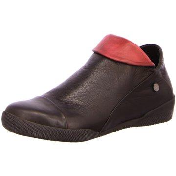 Esgano Komfort Stiefelette schwarz