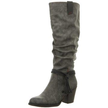 Rieker Klassischer Stiefel grau