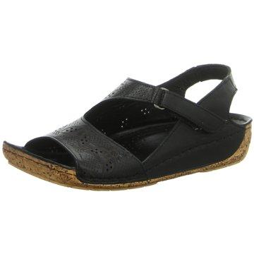 Gemini Komfort Sandale schwarz
