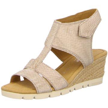 Gabor comfort Espadrilles Sandalen beige