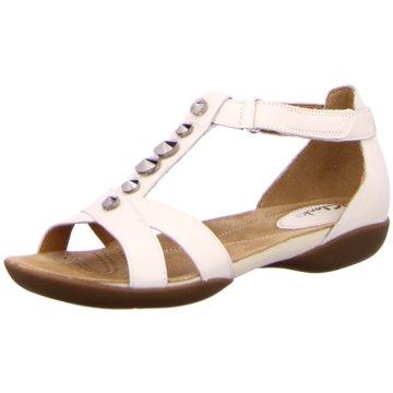 ILC Komfort Sandale weiß