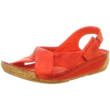 Gemini Komfort Sandale rot