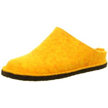 Haflinger HausschuhFlair Soft gelb