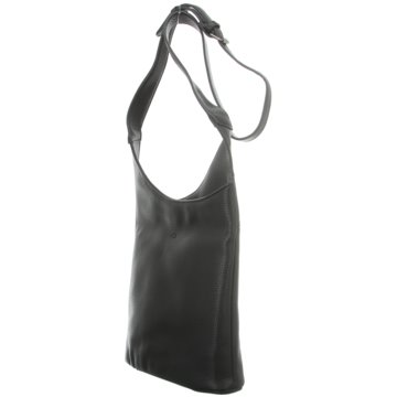 Voi Leather Design Taschen DamenCrossover schwarz